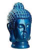 Статуэтка Будда The Buddha, подарок буддисту, керамика, 31*19*19 см, синий