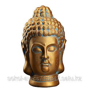 Статуэтка Будда The Buddha, подарок буддисту, керамика, 31*19*19 см, золот