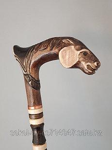 Трость ручной работы, резная, деревянная, для ходьбы, Лошадь, подарок бабушке, дедушке, пожилым