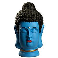 Статуэтка Будда The Buddha, подарок буддисту, керамика, 31*19*19 см, голубой