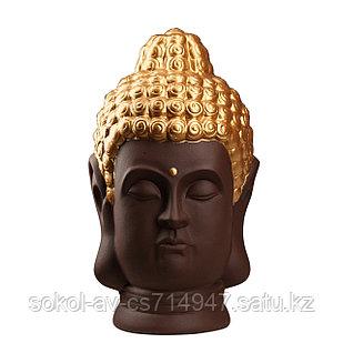 Статуэтка Будда The Buddha, подарок буддисту, керамика, 31*19*19 см, коричневый