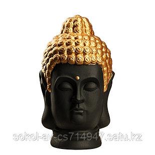 Статуэтка Будда The Buddha, подарок буддисту, керамика, 31*19*19 см, черный