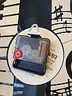 Настенные часы из пластинки, лофт, винтаж, ретро, в офис, кухню, коридор, гараж, комнату, 0524, фото 5