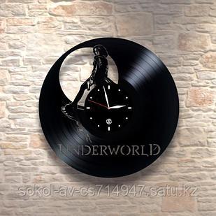 Настенные часы из пластинки, underworld Другой мир, подарок фанатам, любителям, 0331