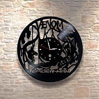 Настенные часы из пластинки, фильм Venom Веном, подарок фанатам, любителям, 0474