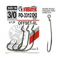 Офсетный крючок Fanatik FO-3312-XL №3/0