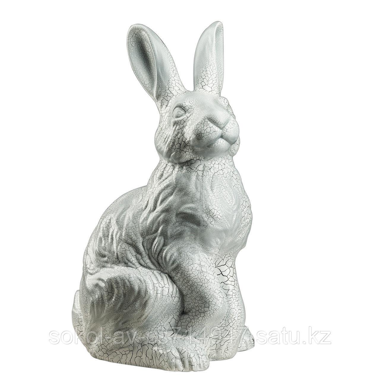 Копилка / статуэтка керамическая Заяц / кролик, высота 40 см, 001