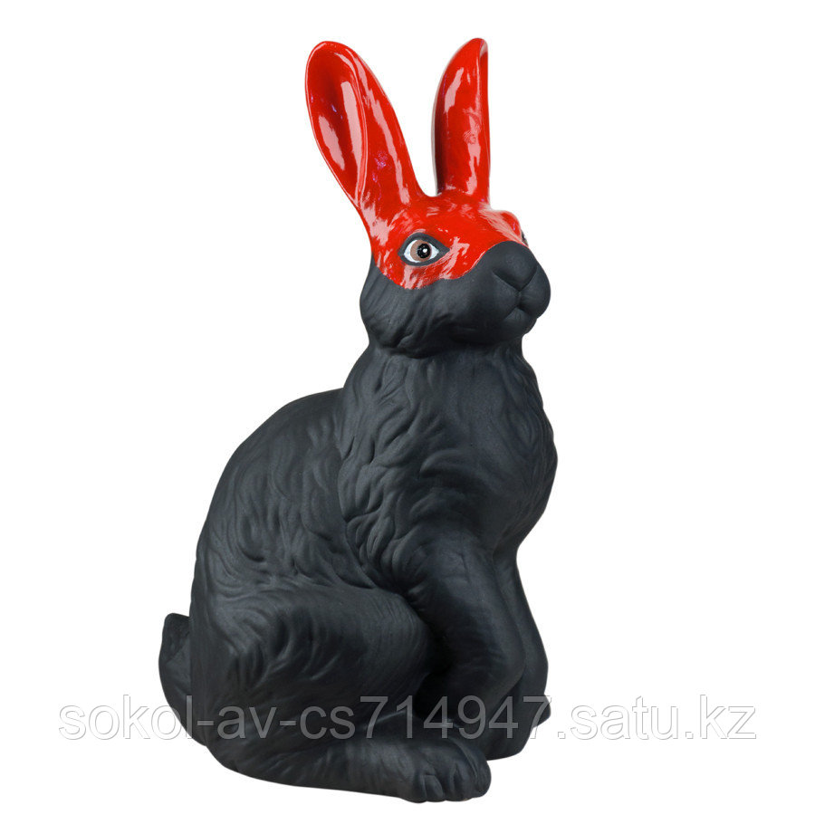 Копилка / статуэтка керамическая Заяц / кролик, высота 40 см, 005