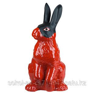 Копилка / статуэтка керамическая Заяц / кролик, высота 40 см, 006