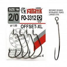 Офсетный крючок Fanatik FO-3312-XL №2/0