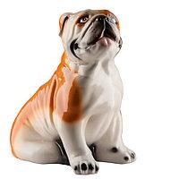 Копилка / статуэтка, керамическая собака Английский бульдог, 32*31*21 см