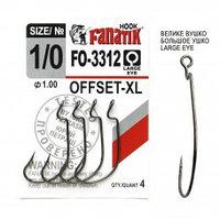 Офсетный крючок Fanatik FO-3312-XL №1/0