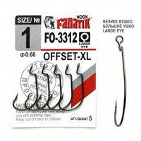 Офсетный крючок Fanatik FO-3312-XL № 1