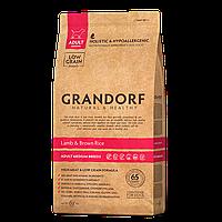 585011 GRANDORF Medium Adult Lamb, сухой корм для собак средних пород, ягнёнок с рисом, уп.1 кг.