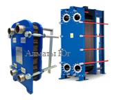 Пластинчатый теплообменник для ГВС (Горячее водоснабжение) до 1500 литров в час 70-50/5-60, фото 2