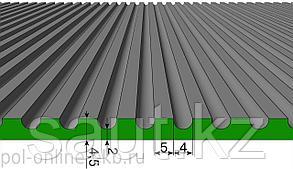 Резиновое рулонные мелкий рубчик, цветные, фото 2
