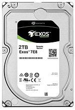 "Seagate ST2000NM004A Жесткий диск 2TB Exos 7E8, 3.5"" SAS 12Gb/s 256Mb 7200rpm, 512e"