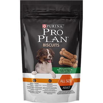 Pro Plan Biscuits для взрослых собак всех пород, с ягненком, уп.400гр.