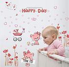 Наклейки настенные для украшения детской для маленькой принцессы, фото 2