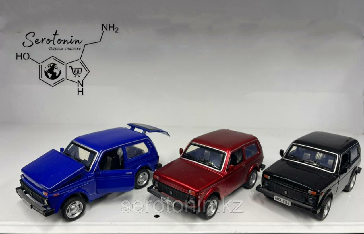 Коллекционные машинки Lada 4x4
