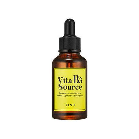 Высокоэффективная осветляющая сыворотка TIAM Vita B3 Source, 30 ml, фото 2