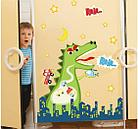 """Наклейки настенные """"Динозавр"""", фото 4"""