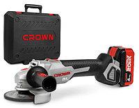 Аккумуляторная угловая шлифмашина Crown CT23001-125HX-4 BMC