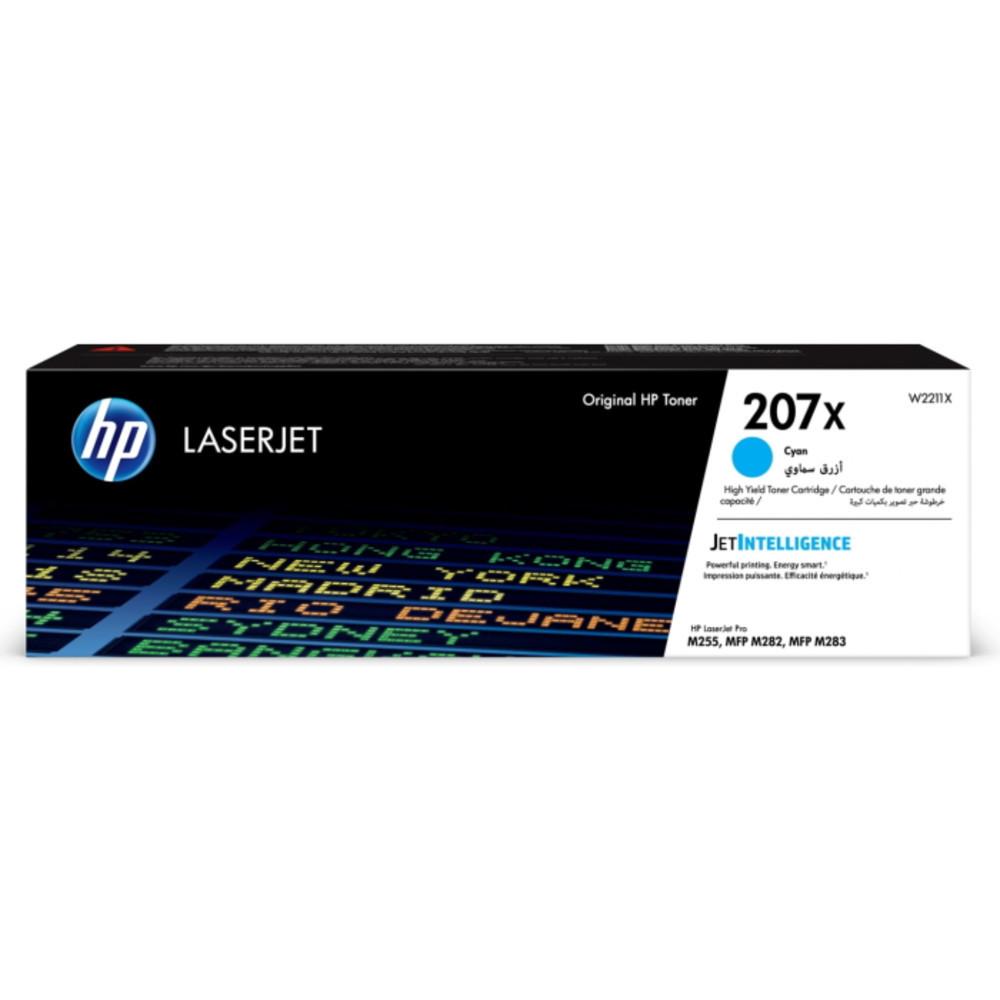 Картридж HP 207X голубой 2450 стр. (W2211X)