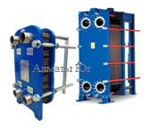 Пластинчатый теплообменник для ГВС (Горячее водоснабжение) до 1700 литров в час 70-50/5-60, фото 2