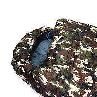 Спальник одеяло Green Way камуфляж 250г/м2*2 холофайбер (202063L Э=левый)