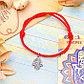 """Браслет-оберег """"Талисман защиты"""" рука Хамса, цвет красный, d=8 см, фото 3"""