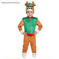 Карнавальный костюм «Трекер», куртка, бриджи, маска, р. 28-30, рост 104-110 см