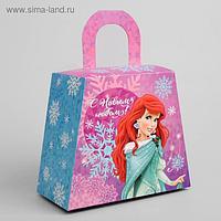 Подарочная коробка «С Новым Годом!», Принцессы, 20 х 17 х 10 см