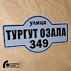 Надомные (адресные) таблички из ПВХ, фото 7