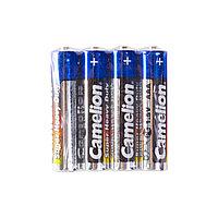 Батарейка CAMELION R03P-SP4B Super Heavy Duty AAA 1.5V 550 mAh 4 шт. Плёнка