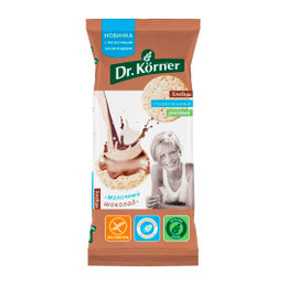 Dr.Korner Хлебцы глазированные рисовые с молочным шоколадом