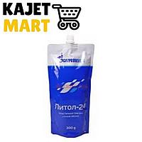 Смазка Литол 300гр дой-пак /10шт/ Газпромнефть