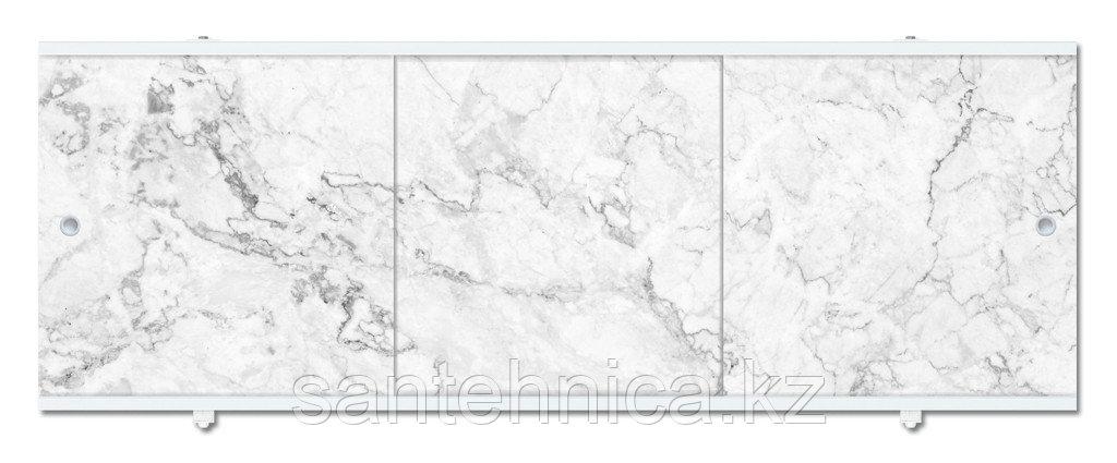 Экран для ванны Премиум А 1480х560х37 мм серый