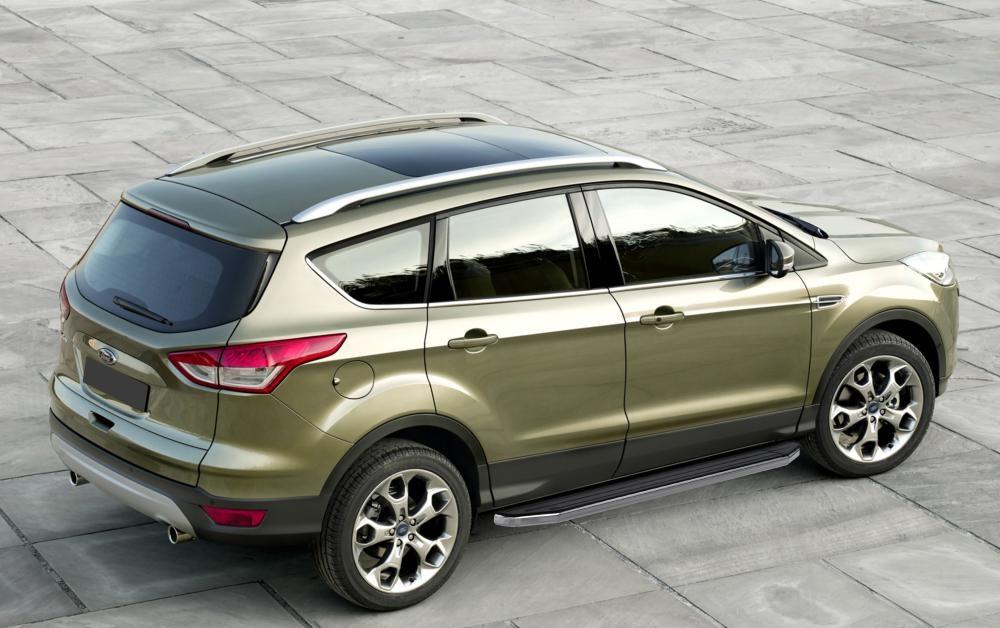 """Пороги """"Premium"""" Ford Kuga (2008-2013)"""