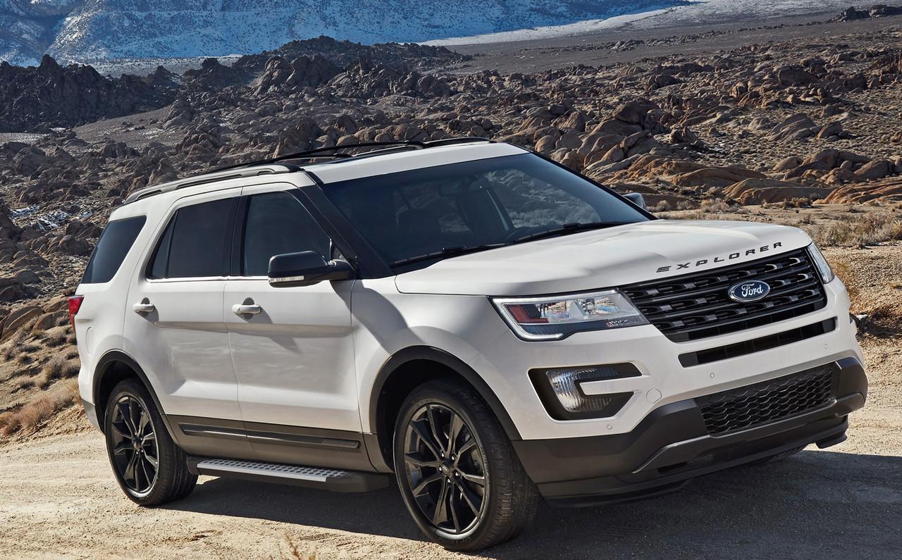 "Пороги ""Bmw-Style"" Ford Explorer (2011-2021)"