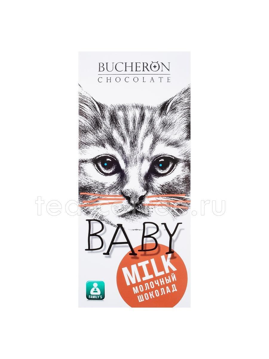 Bucheron BABY молочный шоколад в картоне  50гр (10шт - упак)