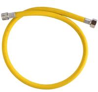 Рукав для газа 0,87 м желтый 1/2 Г-Ш