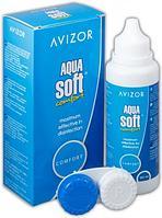 AVIZOR AQUA soft раствор для линз, 120 мл + контейнер