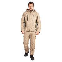 Костюм летний Huntsman Матрица, цвет Песок, ткань Nylon Cotton Рип-Стоп, размер 44-46/170
