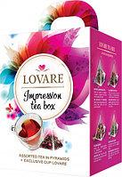 Нобор чая +кружка Lovare в пирамидах, 4 вида чая 28ф/п + Чашка Lovare 250мл