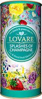 Чай черный байховый листовой с добавлением чая зеленого Брызги шампанского 80 гр. ТМ Lovare