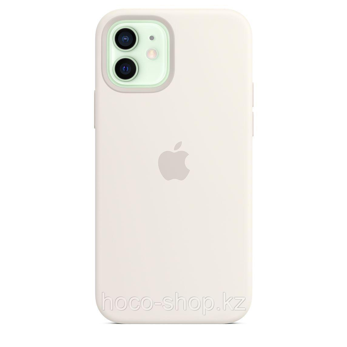 Чехол для смартфона iPhone 12 with MagSafe белый