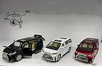 Коллекционные машинки Toyota Alphard Hybrid