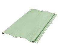 Сайдинг зеленый 3 м 20 м в упк. 20 шт.