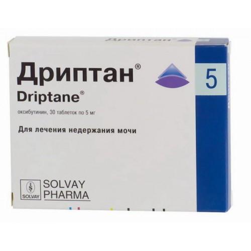 Дриптан 5 мг №30 табл